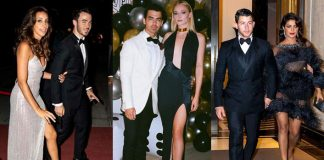 Joe Jonas rings in 30th birthday with Bond theme party