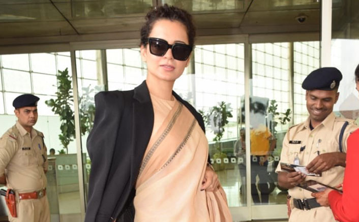 "Kangana Ranaut Wears Cotton Sari Worth Rs.600; Rangoli Tweets, ""Please Support Our Own Before International Brands"""
