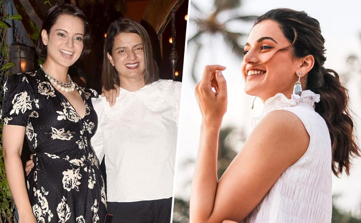 """Kangana Ranaut's Sister HITS Back At Taapsee Pannu: """"Respond Openly Not Slyly"""""""