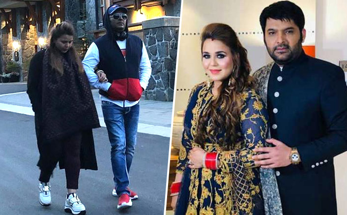Kapil Sharma Wanders With Wife Ginni Chatrath On The Streets Of Vancouver; Captions The Photo With A Romantic Quote