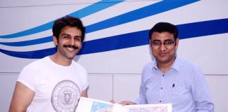Kartik Aaryan feted with customised stamps