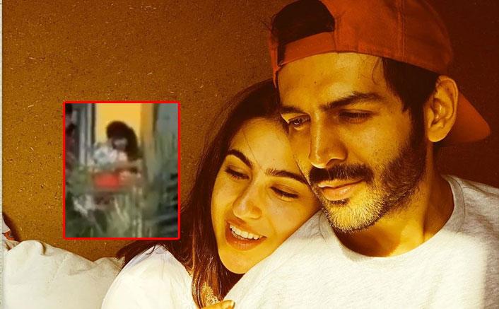 Kartik Aaryan Takes PDA To Next Level, Drops & Hugs Rumoured Girlfriend Sara Ali Khan At The Lucknow Airport!