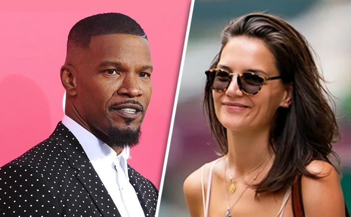 Break Up With Jamie Foxx! So What? Katie Holmes Has No Hint Of Sadness On Her Face As She Steps Out Of House