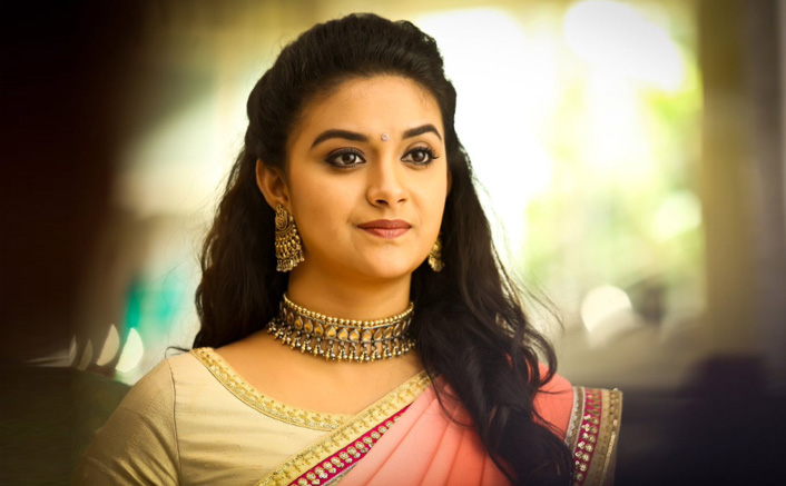 Keerthy Suresh dedicates National Award to her family