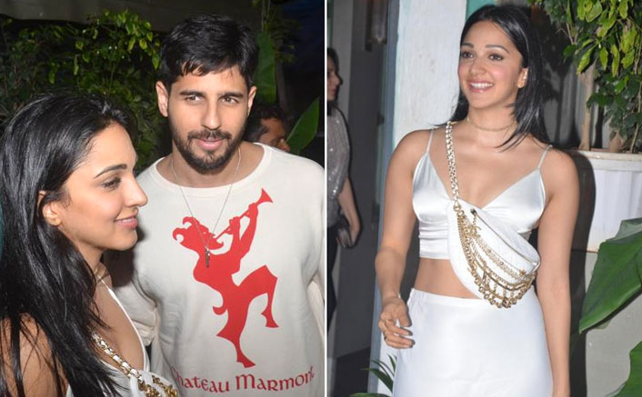 Sidharth Malhotra-Kiara Advani spotted leaving together post her birthday bash