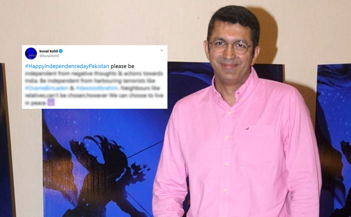 "Hum Tum Director Kunal Kohli To Pakistan: ""Be Independent From Harbouring Terrorists Like Osama Bin Laden & Dawood Ibrahim"""