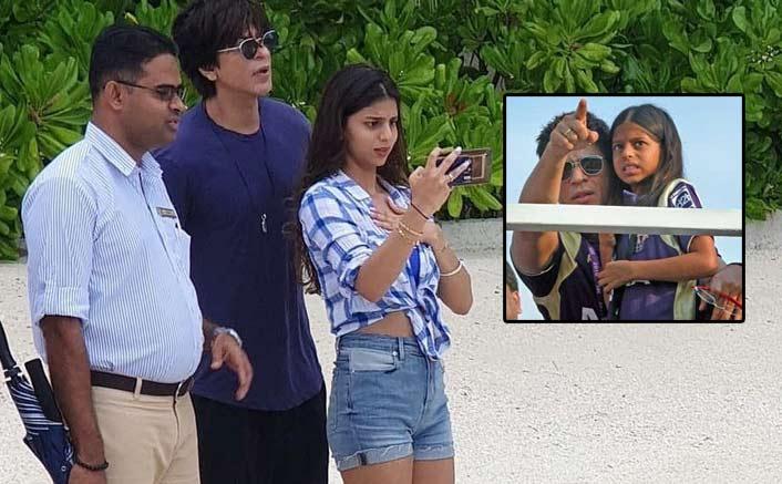 Lil. Suhana Cheering For Daddy Shah Rukh Khan's IPL Team Kolkata Knight Riders Is Beyond Adorable!