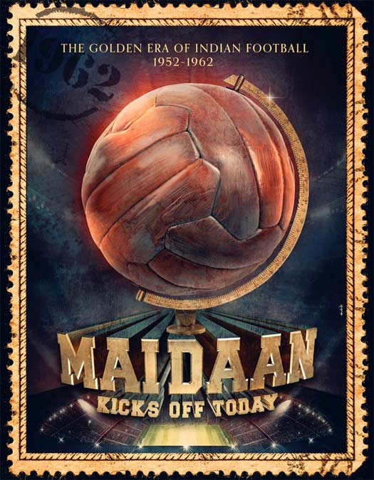 Maidaan Poster On 'How's The Hype?': BLOCKBUSTER Or Lacklustre?