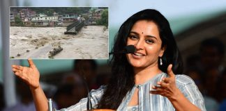 Malayalam Actress Manju Warrier Gets Stuck In Himachal Floods