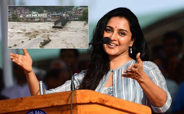 Malayalam Actress Manju Warrier Gets Stuck In Himachal Floods