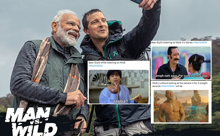 #ManVsWild: Here's The Best Compilation Of Bollywood Memes From Last Night's Episode With Bear Grylls & PM Narendra Modi!