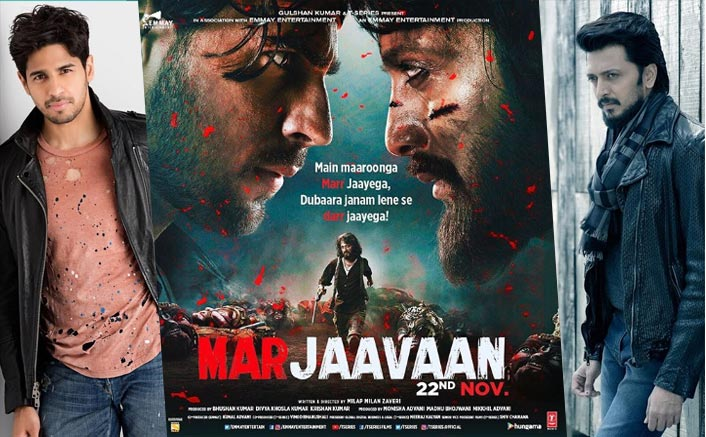 Marjaavaan: It's A Face Off Between Hero Sidharth Malhotra And Villain Riteish Deshmukh