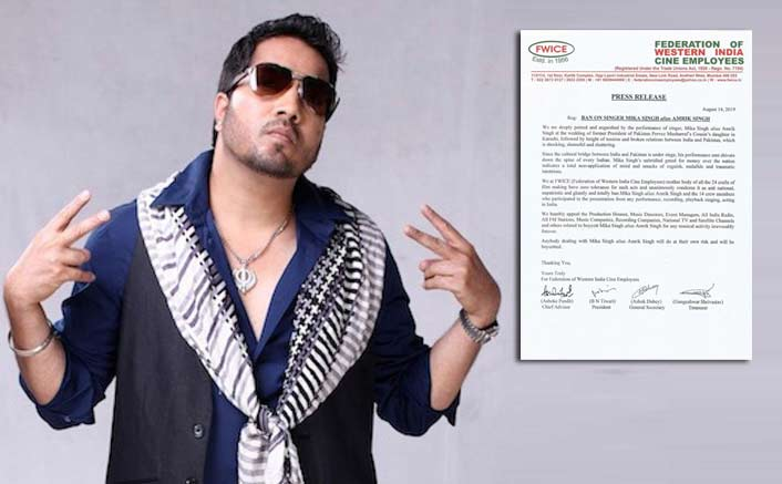 Post AlCWA, Now FWICE Boycotts Mika Singh For Performing In Pakistan