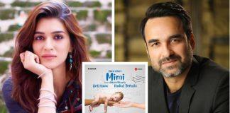 Mimi Poster: Kriti Sanon and Pankaj Tripathi Team Up For Luka Chuppi Director Laxman Utekar's Next