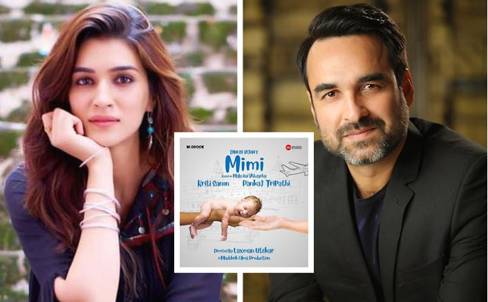 Mimi Poster: Kriti Sanon and Pankaj Tripathi Team Up For Luka Chuppi Director Laxman Utekar's Next