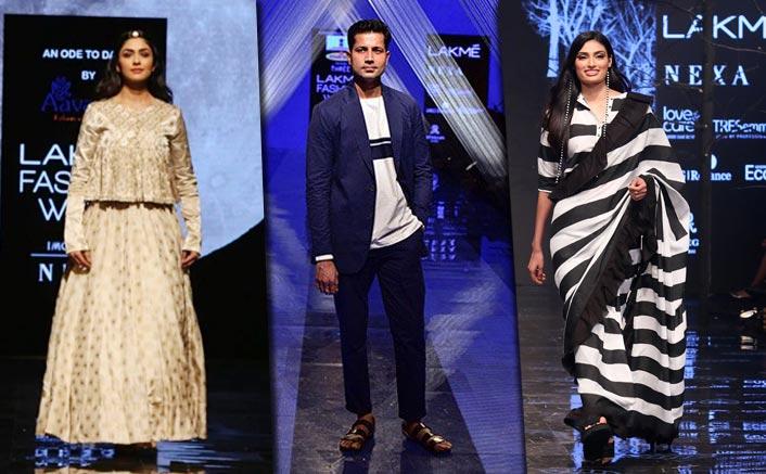 Mrunal, Athiya, Sumeet Vyas dazzle on Day 3 of LFW 2019