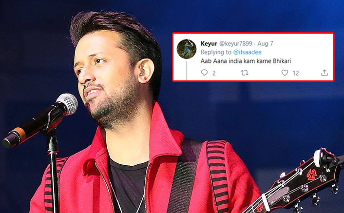 Atif Aslam Gets Slammed By Netizens After He Writes About Kashmir Issue On Twitter
