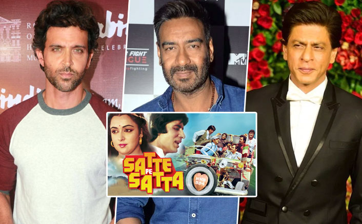 Not Shah Rukh Khan Or Hrithik Roshan, Ajay Devgn Was First Approached For Satte Pe Satta Remake!