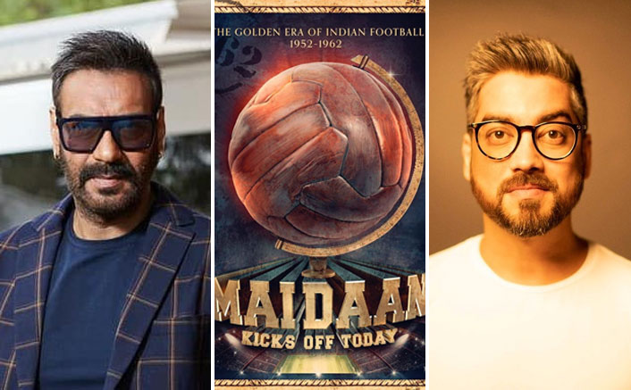 """Maidaan Director Amit Sharma Is All Praises For Ajay Devgn: """"An Underdog Taking Things To Next Level"""""""
