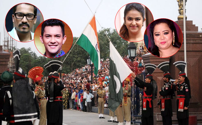 Bharti Singh, Aditya Narayan & Other Celebs Spotted For Beating Retreat Ceremony At Wagah Border