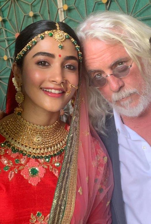 Pooja Hegde gets shot by Academy Award winner Robert Richardson!