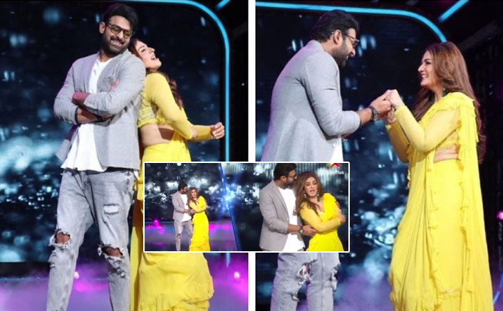 Prabhas And Raveena Tandon Soar The Temperature With Their Dance On Tip Tip Barsa Paani; WATCH Video