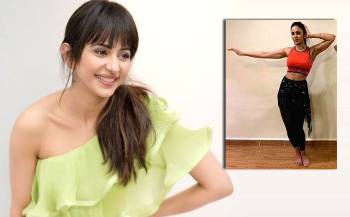 Rakul Preet Singh takes belly dancing lessons