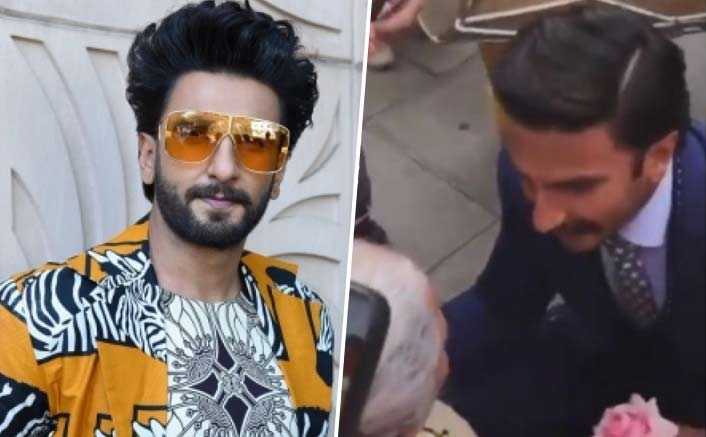Ranveer Singh Receives Kiss From A Lady On The Wheelchair In This Viral Video & It'll Beat Your Monday Blues