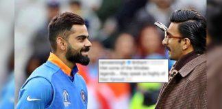 Virat Kohli Posts A Picture With Sir Vivian Richards, Ranveer Singh Drops A 'Proud' Comment