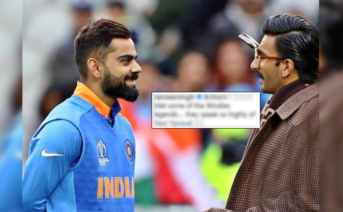 Virat Kohli Posts A Picture With Sir Vivian Richards, Ranveer Singh Drops A 'Proud' Comment