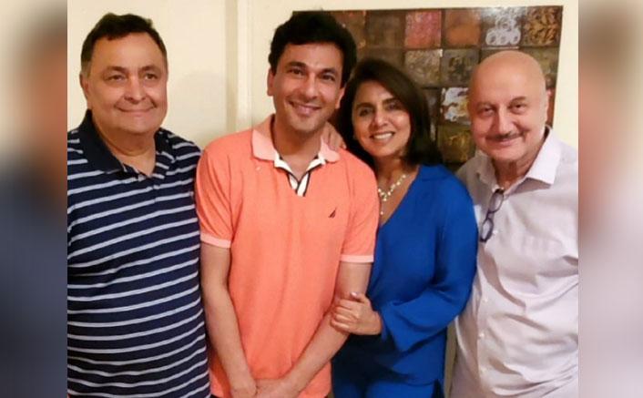 Rishi Kapoor dines with 'chef supreme' Vikas Khanna