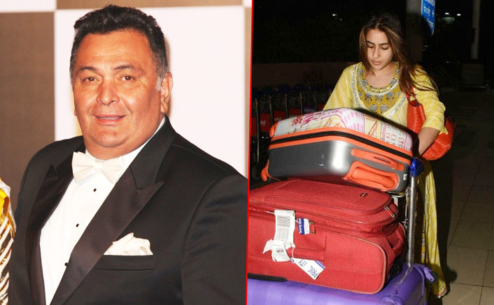 "Rishi Kapoor Is All Praises For Sara Ali Khan: ""You Set Examples How Celebs Should Behave At The Airport"""