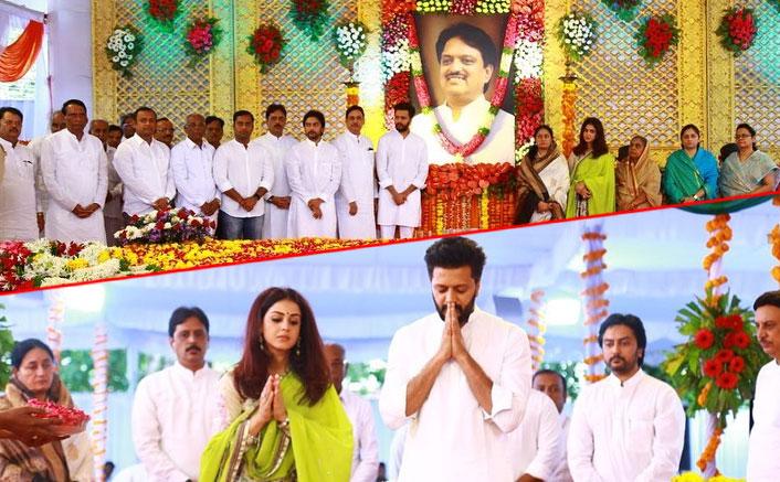 Riteish Deshmukh remembers father Vilas Rao Deshmukh