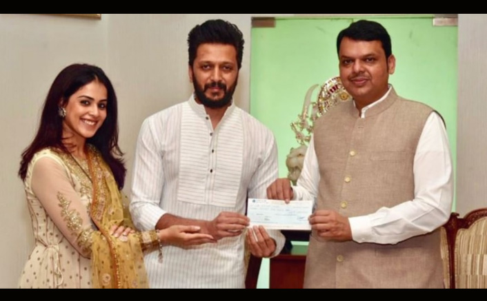Maharashtra Floods: Riteish Deshmukh & Genelia D'Souza Make A Huge Contribution To Relief Fund