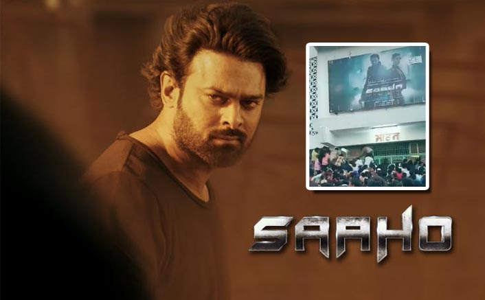 VIRAL VIDEO: Chaos Follows In Theatres As Fans Fight Through To Witness Prabhas In Saaho!