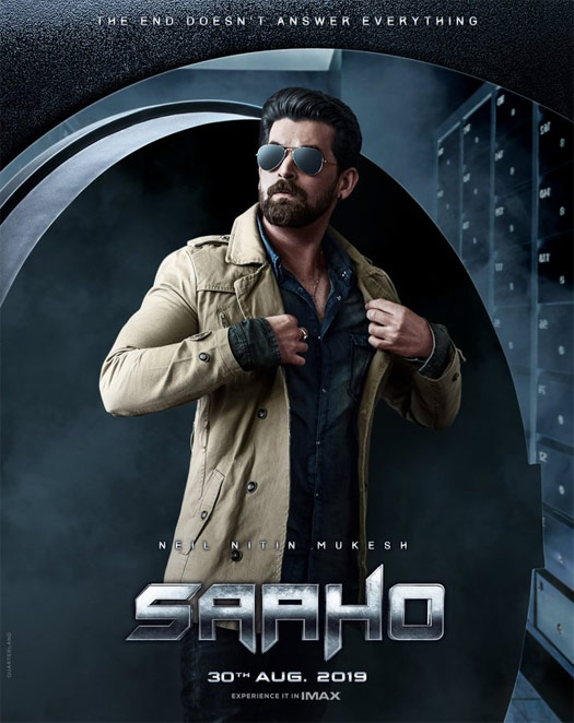 Saaho Poster: Neil Nitin Mukesh's Poster Comes With A Cryptic Message!