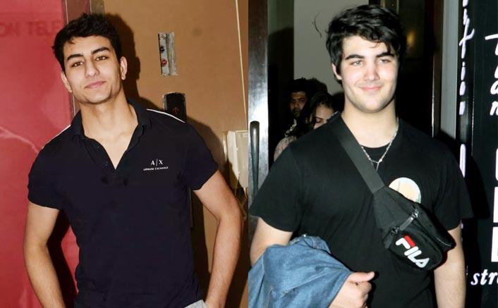 Pics: Saif Ali Khan & Akshay Kumar's Sons Aarav & Ibrahim Get Mobbed As They Go For Dinner