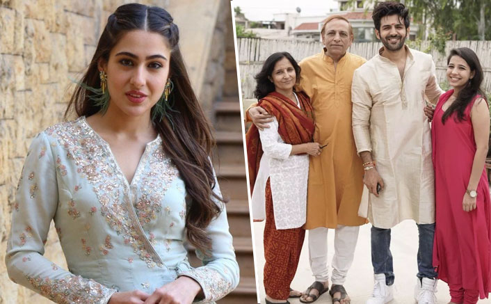 Sara Ali Khan Meets Kartik Aaryan's Parents? Too Serious, Too Soon!