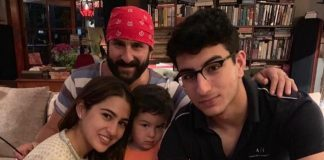 Sara Ali Khan Wishes Her Dad Saif Ali Khan By Sharing A Cute Photo With Him and Brothers Ibrahim And Taimur Ali Khan