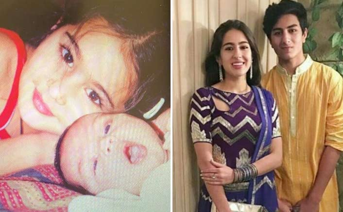 Sara Ali Khan's Raksha Bandhan Post For Brother Ibrahim Ali Khan Is Every Bit Cute