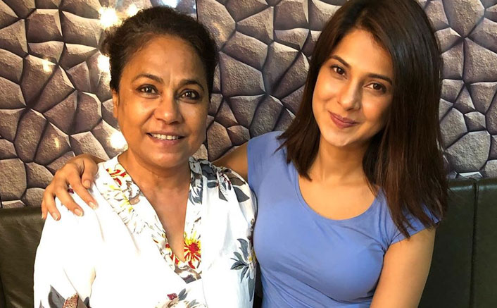 Seema Biswas shoots with ardent fan Jennifer Winget