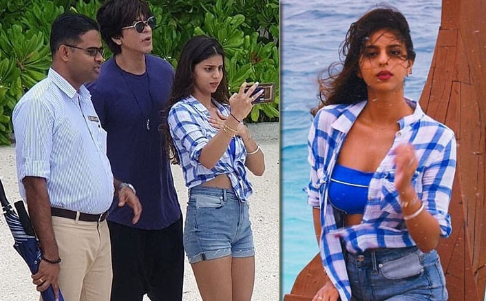 PICTURE: Papa Shah Rukh Khan Turns Instructor For Photographer Suhana Khan In Maldives!