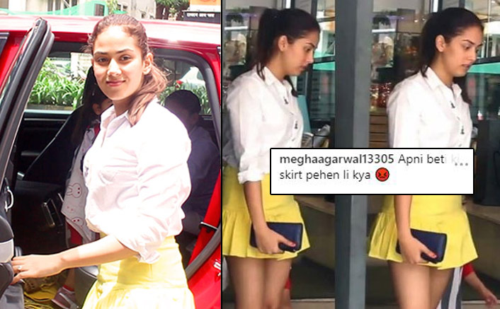 Shahid Kapoor's Wife Mira Kapoor Looks Adorable In Cute Mini Skirt; Netizens Troll Her Instead!