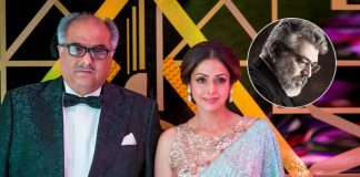 Sridevi's Beautiful Wish Fulfilled By Boney Kapoor With Ajith In Nerkonda Paarvai