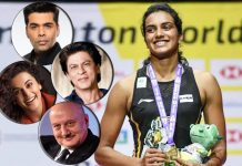 SRK, Taapsee congratulate world champion Sindhu
