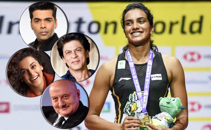 From Shah Rukh Khan To Taapsee Pannu - B-Town Congratulates P.V. Sindhu For The Big Win!