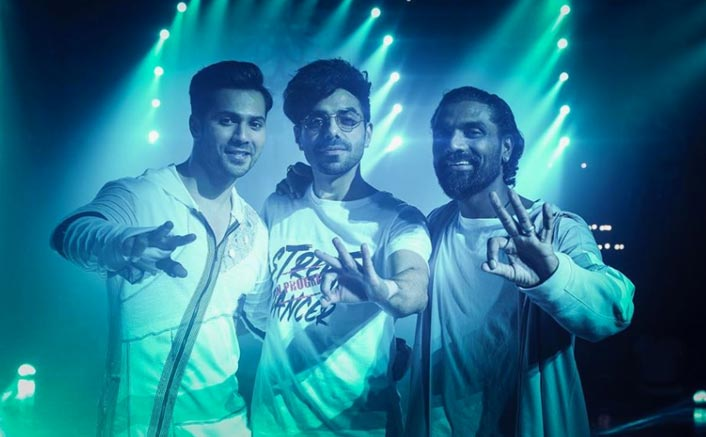 Street Dancer 3D: Varun Dhawan, Aparshakti Khurrana And Remo D'souza Strike A Pose On Sets Of The Film