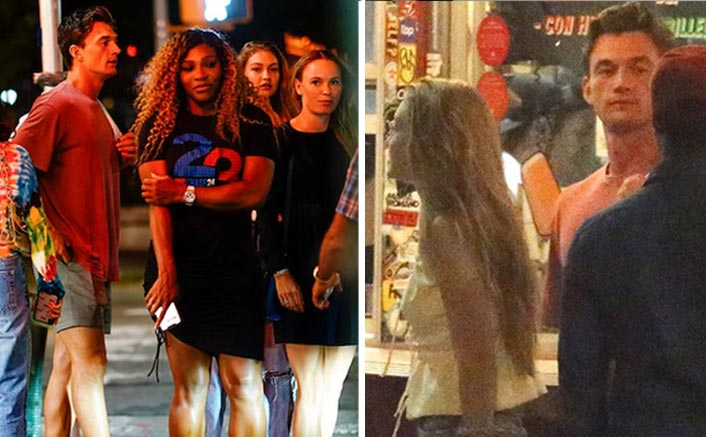 Supermodel Gigi Hadid and beau dine with Serena Williams