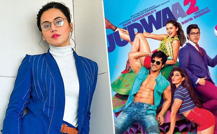 Taapsee Pannu Has An Epic Reply For Fans Who Question Her For Films Like Judwaa 2