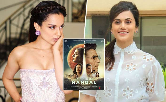 """Taapsee Pannu Questions Kangana Ranaut's Women Empowerment Beliefs: """"5 Women In Mission Mangal, Is She Praising Us?"""""""